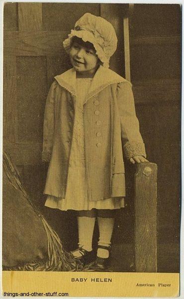 Baby Helen Kraus Postcard