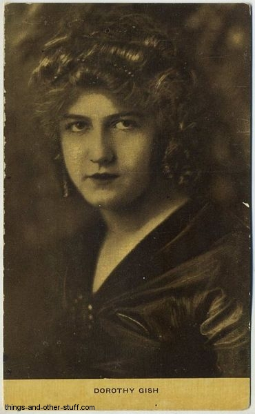 Dorothy Gish Kraus Postcard