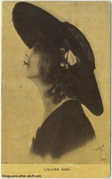 Lillian Gish Kraus Postcard