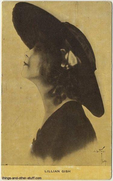 Lillian Gish Kraus Postcard