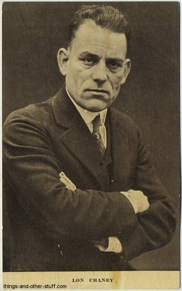 Lon Chaney Kraus Postcard