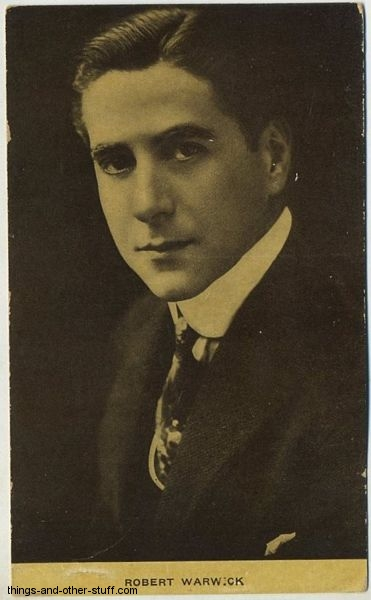 Robert Warwick Kraus Postcard
