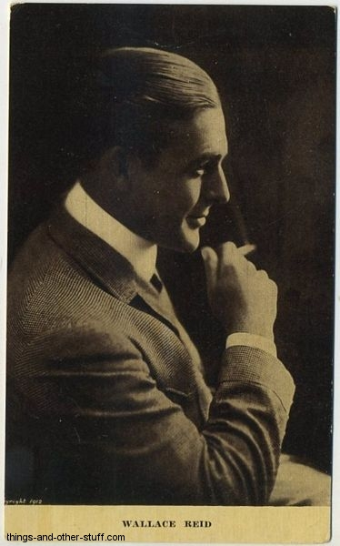Wallace Reid Kraus Postcard