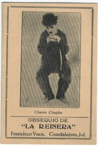 Charlie Chaplin Old Needle Book