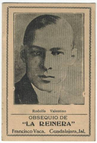 Rudolph Valentino Old Needle Book