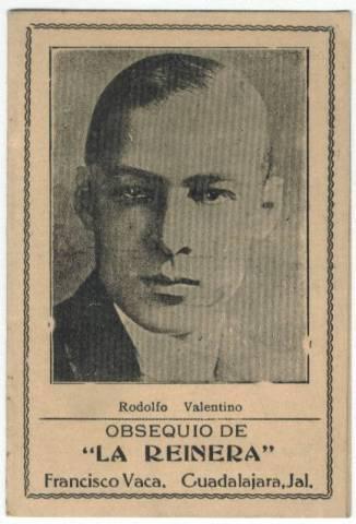 Rudolph Valentino Old Needle Book