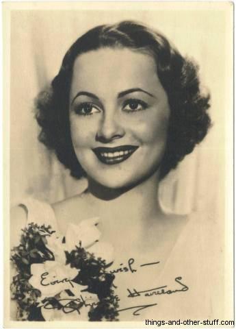 Olivia De Havilland fan photo