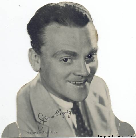 James Cagney Quaker Standee