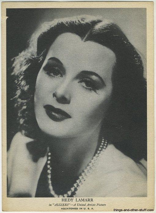 Hedy Lamarr 1930