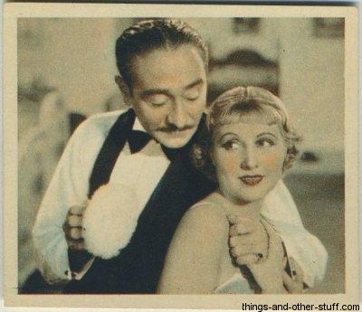 Adolphe Menjou and Genevieve Tobin