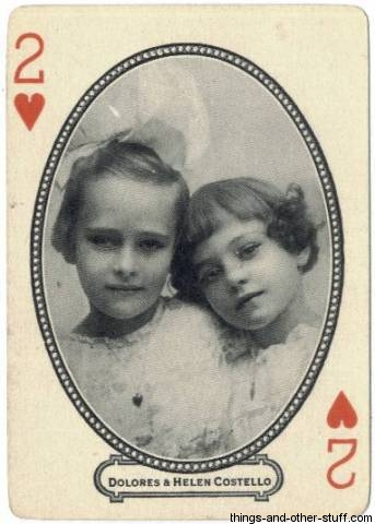 Dolores and Helene Costello