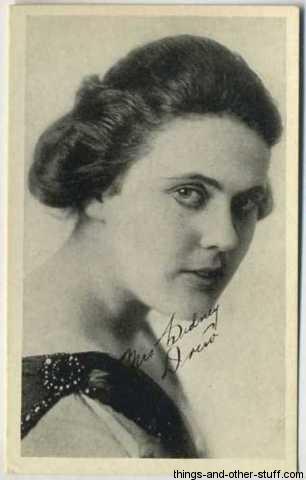 Mrs Sidney Drew 1917 Kromo Gravure Card