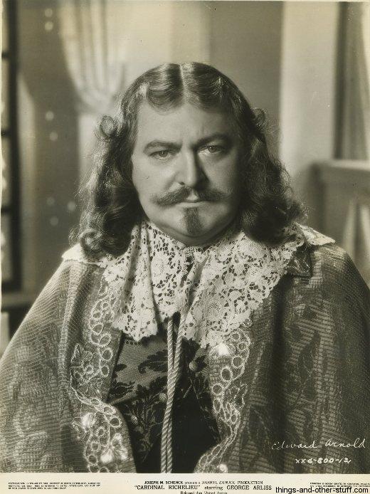 Edward Arnold in Cardinal Richelieu