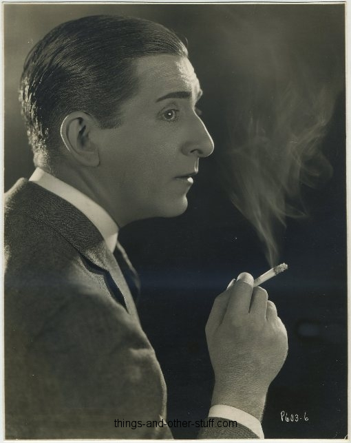 Edward Everett Horton 1920s Promotional Portrait