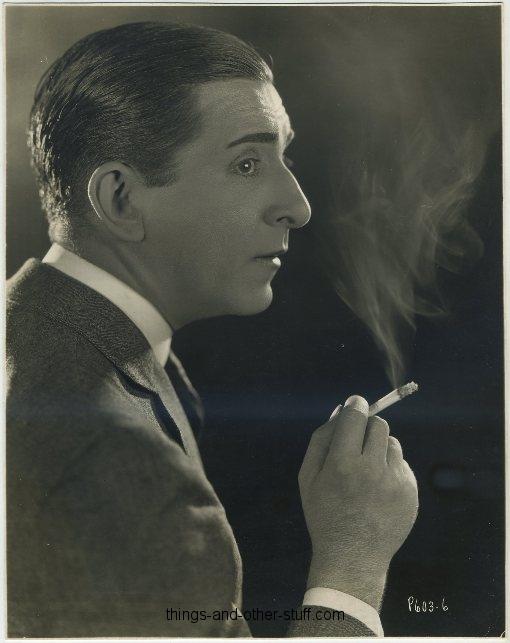 Edward Everett Horton 1920s Promotional Portrait