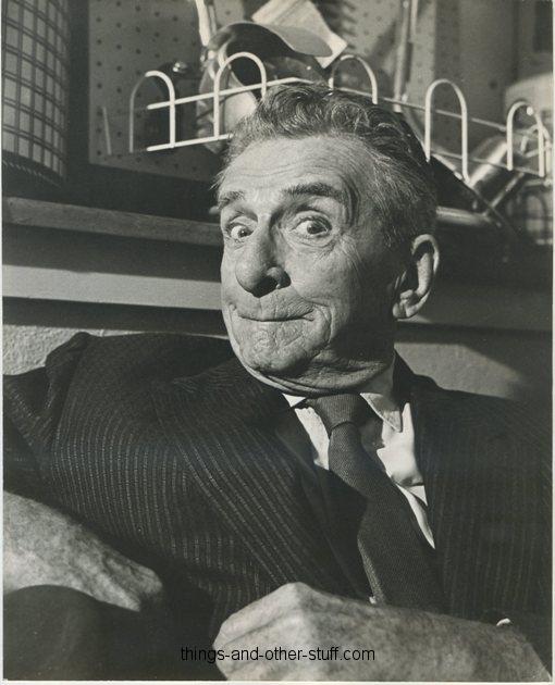 Edward Everett Horton 1960s Promotional Portrait