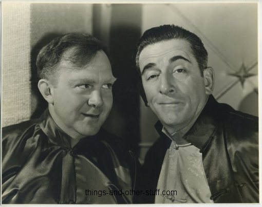 Edward Everett Horton and Thomas Mitchell in Lost Horizon