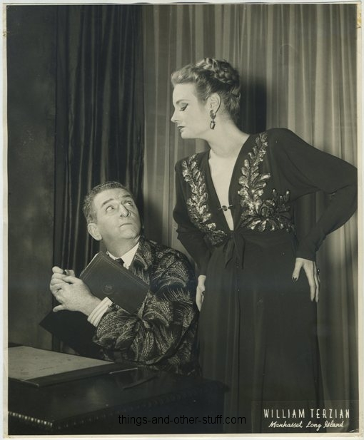 Edward Everett Horton and Muriel Hutchinson in Springtime for Henry
