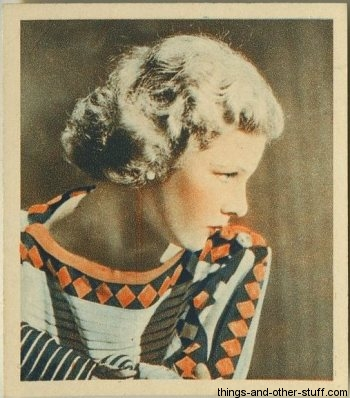 Elissa Landi 1934 Godfrey Phillips Shots from the Films Tobacco Card