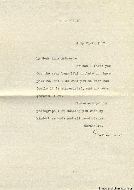 lillian-gish-letter