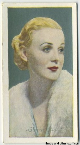 1934 Godfrey Phillips Film Favourites Tobacco Card