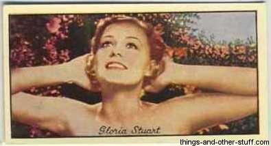 1935 Carreras Film Favourites Tobacco Card
