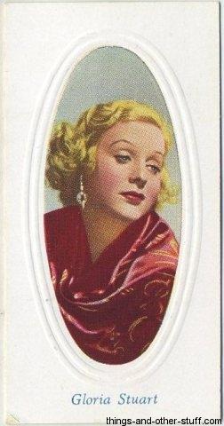 1936 Godfrey Phillips Screen Stars Tobacco Card