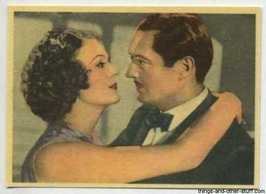 1937 Cigarillos Okey Tobacco Card with Edmund Lowe