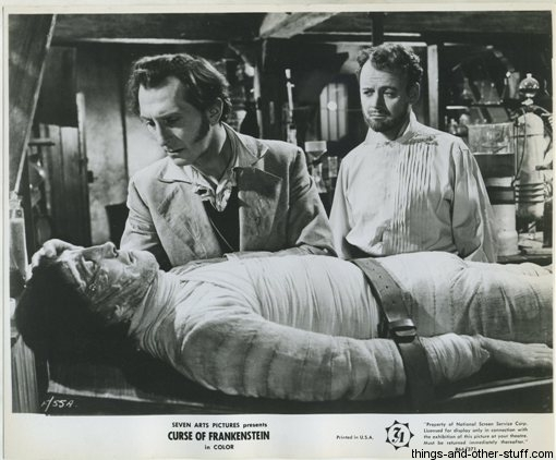 1957 The Curse of Frankenstein