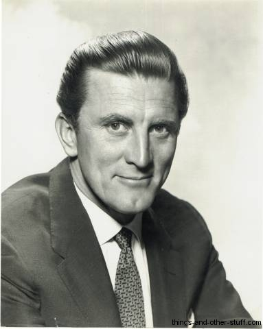Kirk Douglas 1950 Publicity Photo