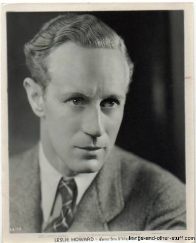 Leslie Howard 1930s 8x10 Promotional Still