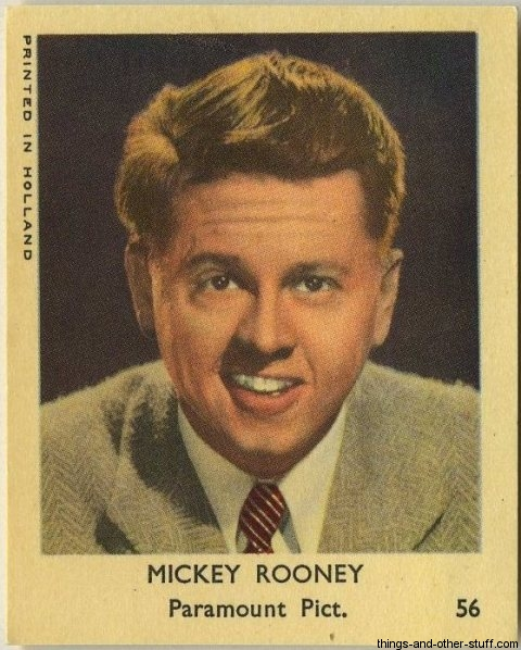 MICKEY ROONEY PASSED ON 1920-2014 1954-klene