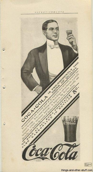 Coca-Cola advertisement May 1906