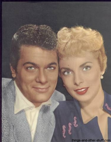Tony Curtis and Janet Leigh 1955 Skye Publications Premium Photo