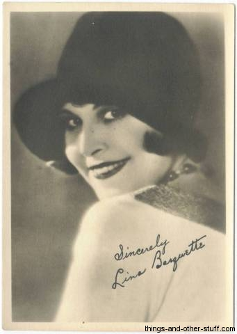 Lina Basquette fan photo