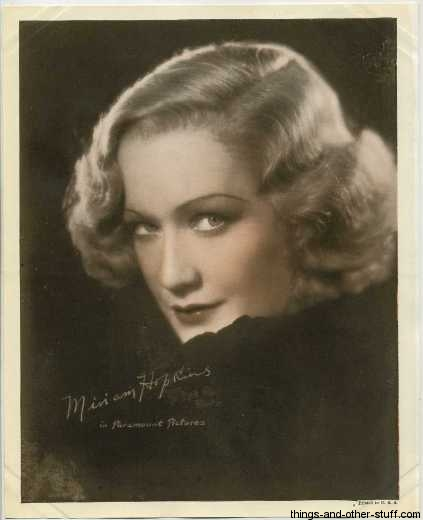 Miriam Hopkins mid-1930s Premium Photo