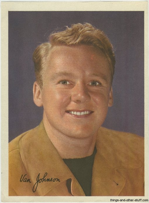 Van Johnson Premium Photo
