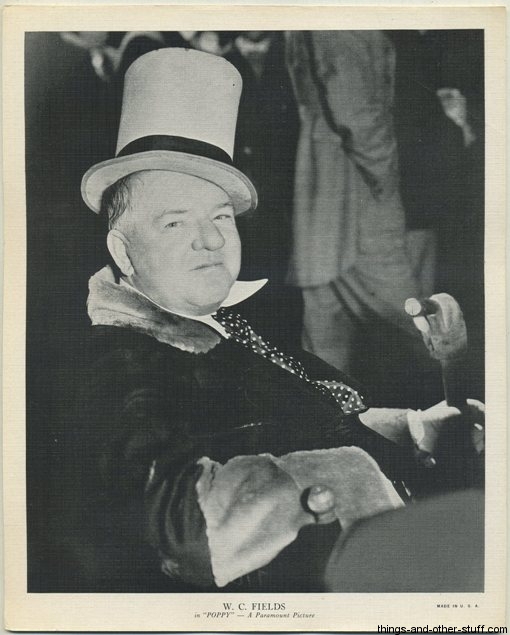 1936 R95 WC Fields 8x10 Premium Photo