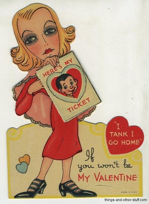 Greta Garbo Valentine