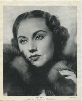 Fay Wray in They Met in a Taxi R95 Premium Photo