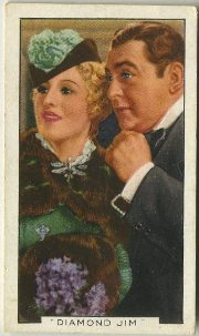 Diamond Jim Tobacco Card