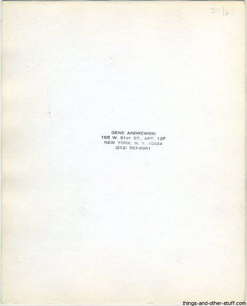 Gene Andrewski Stamp