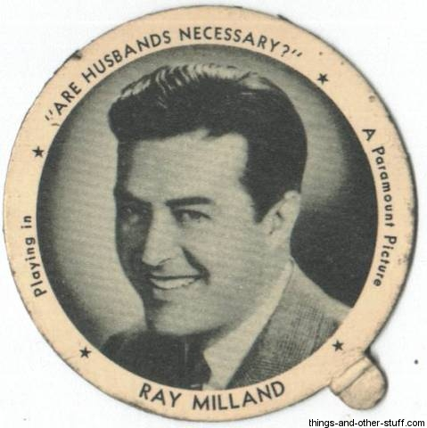 ray milland frogs