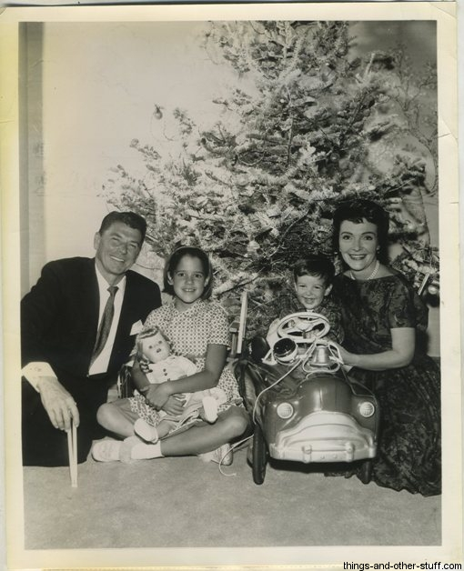 December 1960 Ronald Reagan and Family