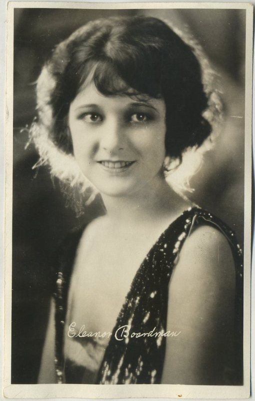 Eleanor Boardman 1920s AZO Postcard
