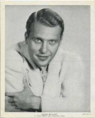 Ralph Bellamy 1936 R95 8x10 Linen Textured Premium Photo