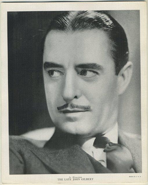 John Gilbert 1936 R95 8x10 Linen Textured Premium Photo