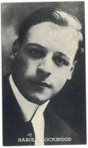 Harold Lockwood 1910s Kromo Gravure Trading Card