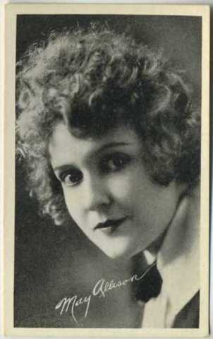 May Allison 1917 Kromo Gravure Trading Card