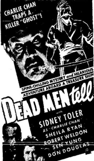 Sidney Toler in Dead Men Tell